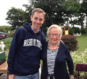 Granny Liz von Island View Riding Stables mit Ryan Tubridy