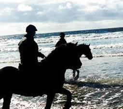 Streedagh und O Connors Island Strandritt