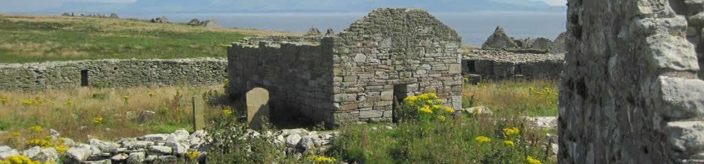 Inishmurray outdoor Archäologie