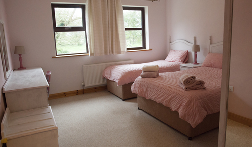 Schlafzimmer  für 3 Personen Ferienwohnung Sunrise