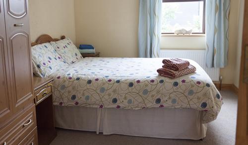 Sunset Doppelbett der Ferienwohnung für Familien
